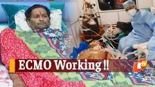 Hope After Despair! Cured After ECMO Treatment, Odisha's Critical Covid Patient Thanks Doctors