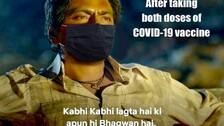 Odisha Health Dept Masks 'Ganesh Gaitonde' To Spread COVID Message