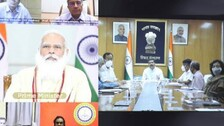 PM Modi Begins Work With Fresh Cabinet, Interacts With Institutions