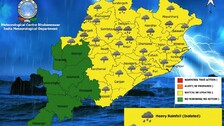 IMD Issues Heavy Rainfall, Thunderstorm Alert For Odisha: Check Latest Weather Update
