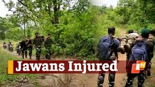 Two Jawans Injured In Gunfight With Maoists In Odisha; DGP's Chopper Comes To Rescue Of Injured