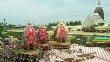 Rath Yatra: Chariots Reach Singhadwara Following Agyan Mala Bije Ritual