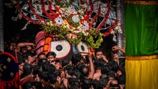 Ratha Jatra 2021: Pahandi Bije Of Holy Trinity Ends