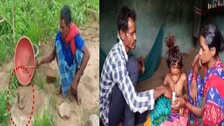 'Take Me To A Doctor Or Kill Me': Pleads Little Odisha Girl Bitten By Cobra