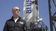 US Approves Jeff Bezos' Blue Origin License For Human Space Travel
