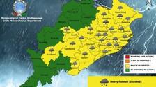 Weather Update: Heavy Rainfall Alert For Odisha; IMD Issues Yellow Warning