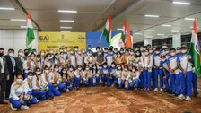Olympics: First Batch Of Indian Athletes Leaves For Tokyo
