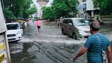 10 Killed As Heavy Rains Pummel Mumbai; Local Train Services Suspended