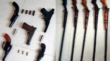 Khordha: Inter-State Illegal Gun Trading Racket Busted; 2 Held, 10 Guns Recovered