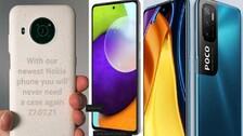 5G Race Hots Up: 'Tuf' Nokia XR20 Vs 'Big Daddy' POCOF3GT Vs 'Awesome' Galaxy A52