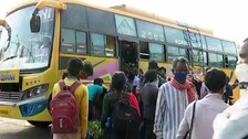 Bus Service Resumes In Odisha After Over 10 Weeks Of Lockdown Curbs