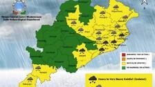 Cyclonic Circulation Over Coastal AP Becomes Less Marked; IMD Predicts Heavy Rain In Odisha