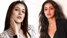 Shehnaaz Gill Gives Ananya Panday A Tough Fight With Her Hot Photoshoot! #SeePics