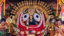 Could Not See The Holy Trinity On Suna Besha As Servitors Crowded Chariots: Say Devotees