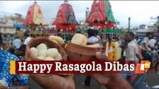 Ratha Jatra 2021: Odisha Celebrates 7th Rasagola Dibas On Niladri Bije