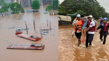 Series Of Disasters In Maharashtra: Over 100 Killed; Army, Navy, IAF, Coast Guard Pressed For Rescue Work