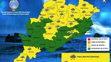 IMD Issues Thunderstorm, Lightning Alert For Several Odisha Districts