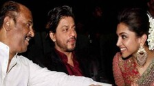 Interesting Crossovers: Deepika Padukone With Rajinikanth And Nayanthara With SRK