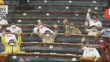 Monsoon Session: Lok Sabha Passes Two Bills Amid Din