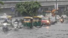 Rainfall Causes Waterlogging, Traffic Jams In Delhi
