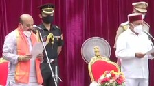 Basavaraj Bommai Takes Oath As Chief Minister Of Karnataka