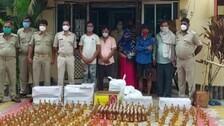 Fake Liquor Racket Busted In Ganjam, 5 arrested