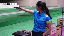 Olympics: Manu Fifth, Rahi 25th After 1st Qualification Round In 25m Pistol