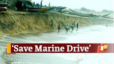Climate Crisis | Signs Ominous As Sea Drives Into Konark Marine Drive