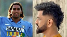 Captain Cool MS Dhoni's Never Before Seen Retro Look Is Killer
