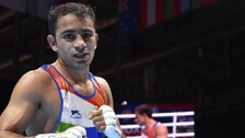 Shocking Loss To Colombian Martinez Ends Amit Panghal's Olympic Campaign