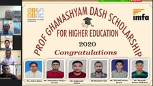 IMFA Awards Prof Ghanashyam Dash Scholarship To Six Students For Higher Studies