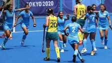 Brave Indian Women Create History, Enter Olympic Hockey Semifinal For First Time