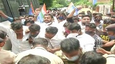 Odisha Chhatra Congress Ups Ante, Clashes With Police At SSC Office Over 'Recruitment Scam'