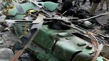 Army Helicopter Crash: Both Pilots Safe