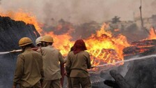 Major Fire Breaks Out At Haldia Petrochemicals Plant