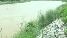 Stone Packing Caves Into River Bhargavi Due To 'Poor Work'