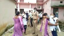 Odisha Chief Secy, 5T Secy Face Wrath Of Laid Off Nursing Staff In Bolangir