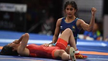 Vinesh Phogat Knocks Out Mattsson To Move To Quarters, Anshu Bows Out After Repechage Defeat