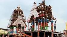 Dismantling Of Chariots Begins At Puri Ahead Of Reopening Of Lord Jagannath Temple