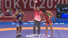 Wrestler Bajrang Punia Secures Semifinal Spot With Stunning Win Over Iranian