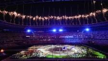 Tokyo Olympics Closing Ceremony Begins