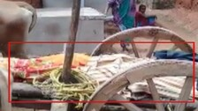 Dead Denied Dignity: Untouched By Relatives, Body Carried On Bullock Cart In Bolangir