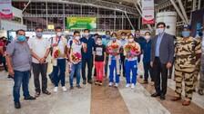 Odisha's Olympian Hockey Players Get Heroes' Welcome On Return