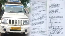 MV Act: Pick-Up Van Driver Fined Rs 28K for Invalid DL And Overloading