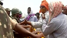 Protestors Clash With Police Over Proposed Mega Drinking Water Project In Kendrapara