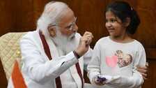 PM Modi Catches Up With 10-Year-Old Anisha, Answers Her Questions Patiently