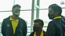IPL 2021: MS Dhoni-Led Chennai Super Kings Take Off For Dubai