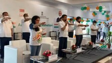 Sports Min Thakur Launches Fit India Freedom Run 2.0 To Celebrate 75 Years Of Independence