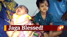Surviving Separated Conjoined Twin From Odisha Blessed With Baby Sister