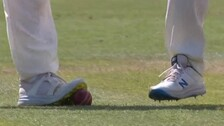 Videos Show England Players Scuffing Ball, Twitter Erupts Over Alleged Ball-Tampering